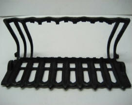 How to modify the cast iron basket of my coal fireplace to use a gas coal burner