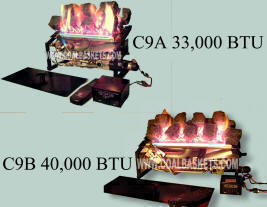 Rasmussen Chillbuster Gas Coal Burners are Vent free or can be vented