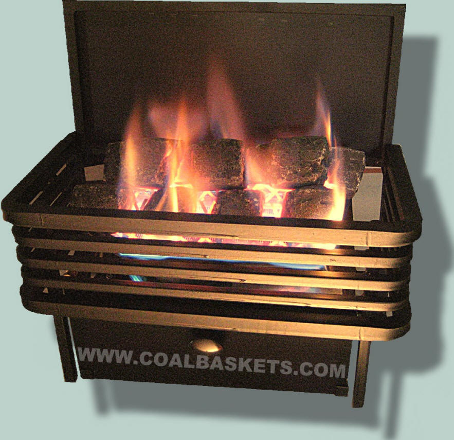 Moderne Chillbuster vent free coal basket by Rasmussen
