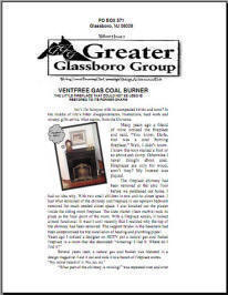Vent Free Coal Basket restores historic fireplace as reported in Greater Glassboro Group News letter