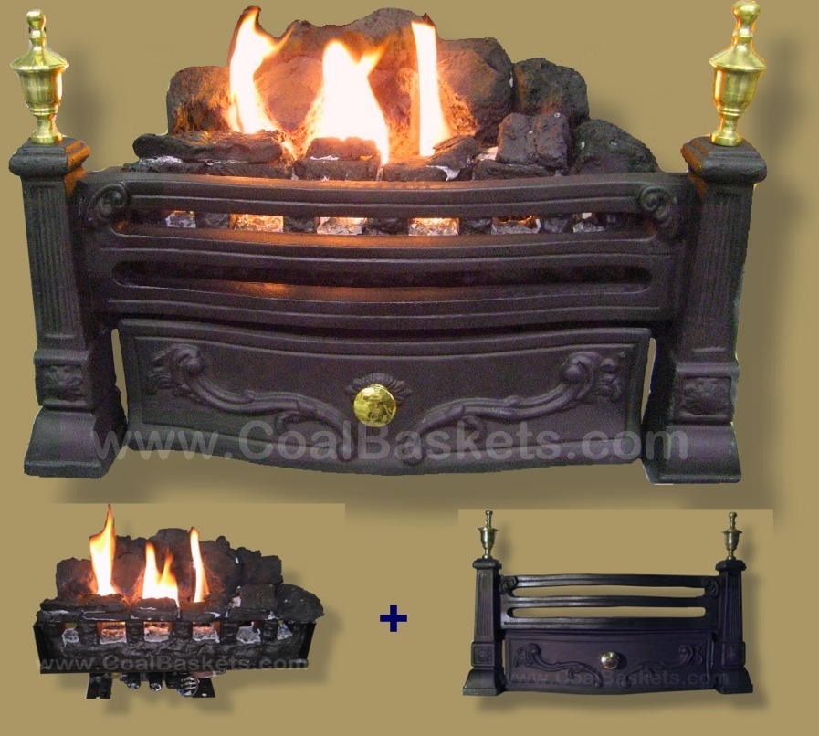 Coal Burner For Small Fireplace