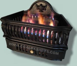 Vent free Coal Basket that heats your home.