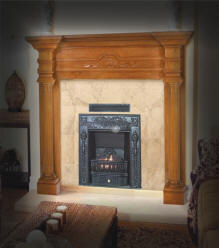 Build a Vent Free Gas Coal burning Fireplace in your new home!