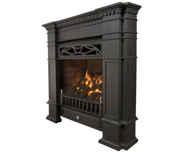 how to make gas fireplace more realistic